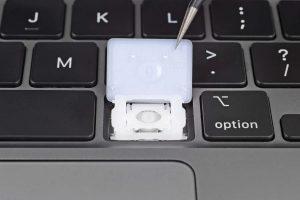 замена клавиши в макбук