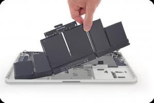 замена аккумулятора макбука или батареи